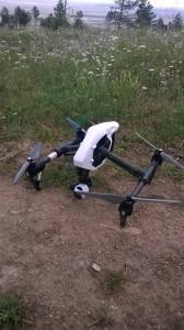 """Над """"Аязмото"""" и други части от града снимките са правени с дрон."""