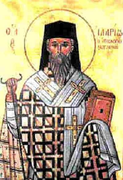 Резултат с изображение за Св. преподобни Иларион Велики от Газа